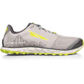 Altra Superior 4 Running Shoes Herr gray/lime